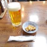 100175322 - 生ビールとおとおし