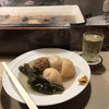 あさひや - 料理写真:おでん、焼酎ウメ