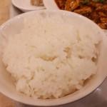 中華料理 楓林 - ライス