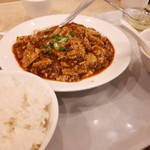中華料理 楓林 - 麻婆豆腐セット