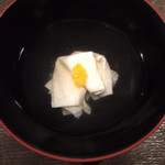 Waryuuryourisari - 一番出汁のすまし汁 湯葉と柚子