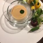 Waryuuryourisari - 旬の野菜 宮古味噌とアンチョビのソース