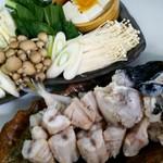 創作日本料理 とものえ亭 - 河豚ちり