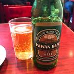 台湾料理 台湾 - 【2018年12月】ビール@500円。