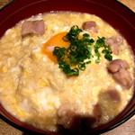 100178831 - 白湯スープ餡掛け親子丼