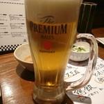 Yakitorinohachibei - 生ビール