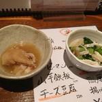 Yakitorinohachibei - お通し