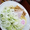 珍々亭 - 料理写真:油そば(並盛)※ネギ皿2019.1.12