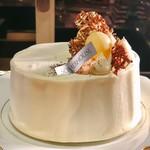 ソマーハウス - チョコシフォン@チョコチップ入りのシフォン、生クリームたっぷり