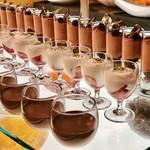 ソマーハウス - チョコレートプリン、フレーズヤオルト、ショコラカシス