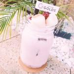GOLDS - ドリンク写真:1月限定 あずきミルク