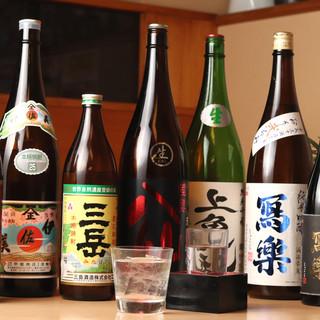 日本酒通も納得!大将オススメのラインナップで今日は一杯…。