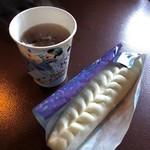ノーチラスギャレー - 餃子ドッグ&ホット烏龍茶