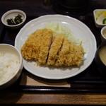 100185175 - 東京X特ロースかつ定食