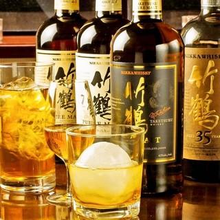 ◆なかなか手に入らない希少なウイスキーを多彩にご用意◆