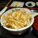 白えび亭 - 白えび天丼(1260円)