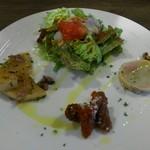 Trattoria Kuroudo - 前菜