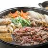 なすび総本店 - 料理写真:国産牛のすき焼き