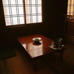 喜州寿司 - 店内(小上がり)