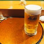 喜州寿司 - 生ビール