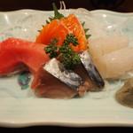 喜州寿司 - お造り盛り合わせ