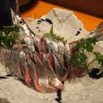 喜州寿司 - 秋刀魚 お造り