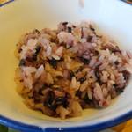 農家レストラン いぶき - 赤米が旨い!