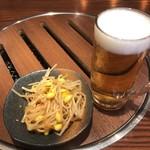 太樹苑 - ランチビール&お通し 300円