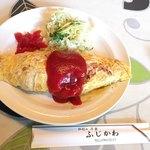 洋食 ふじかわ - オムライス 850円