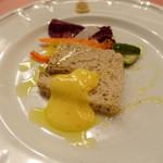 ピッツェリア・サバティーニ - 鶏肉とレバー軟骨のテリーヌ