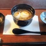 100195706 - 白小豆ぜんざい1150円