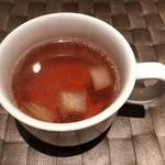 スタイリッシュグリル Tyu - セットのスープ