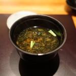 神楽坂 鉄板焼 中むら - お味噌汁