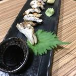 炉ばたワコー - 生穴子塩焼き