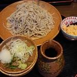 勇吉 - もり(大盛り)900円