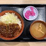 100199742 - 甲州味噌かつ丼