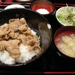 モリちゃん - 「もりちゃん丼」