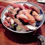 三益寿司 - 新メニュー?「本日の特選お勧め握り20貫」5000円