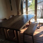 BAGEL CAFE SORARIN - テーブル席4〜5人用