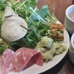 The Kitchen Salvatore Cuomo GINZA - サラダ、前菜、スープ。