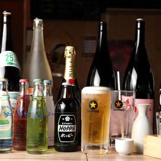 ビール、ホッピー、バイスサワー…馬肉×旨い酒で進む1杯!