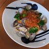 たべりcafe - 料理写真:この日のパスタはあさりとトマト