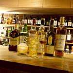SHOT BAR BOSS - 500円~ウイスキー ウイスキー各種