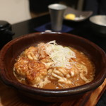じんぺい - 河産 白子のバターポン酢焼き