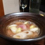 じんぺい - 岩手県産 岩手鴨とねぎの治部煮