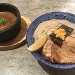 下品なぐらいダシのうまいラーメン屋 - 夜限定!! すっごい石焼ウニつけ麺