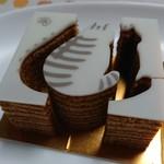 銀座のジンジャー - 型ぬきしながら食べるバウム♬