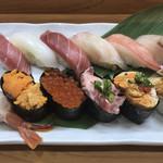 寿司 和食 しん - 寿司 松  光物、ガリなし