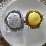 家紋家 - ごま塩大福\95 芋クリーム\110