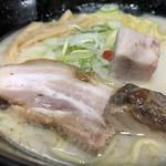 波飛沫 - とろけるバラチャーシューにブロックチャーシュー(小田急新宿店「冬の北海道物産展」)